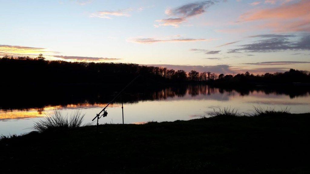 Etang de pêche en Dordogne, Tamnies